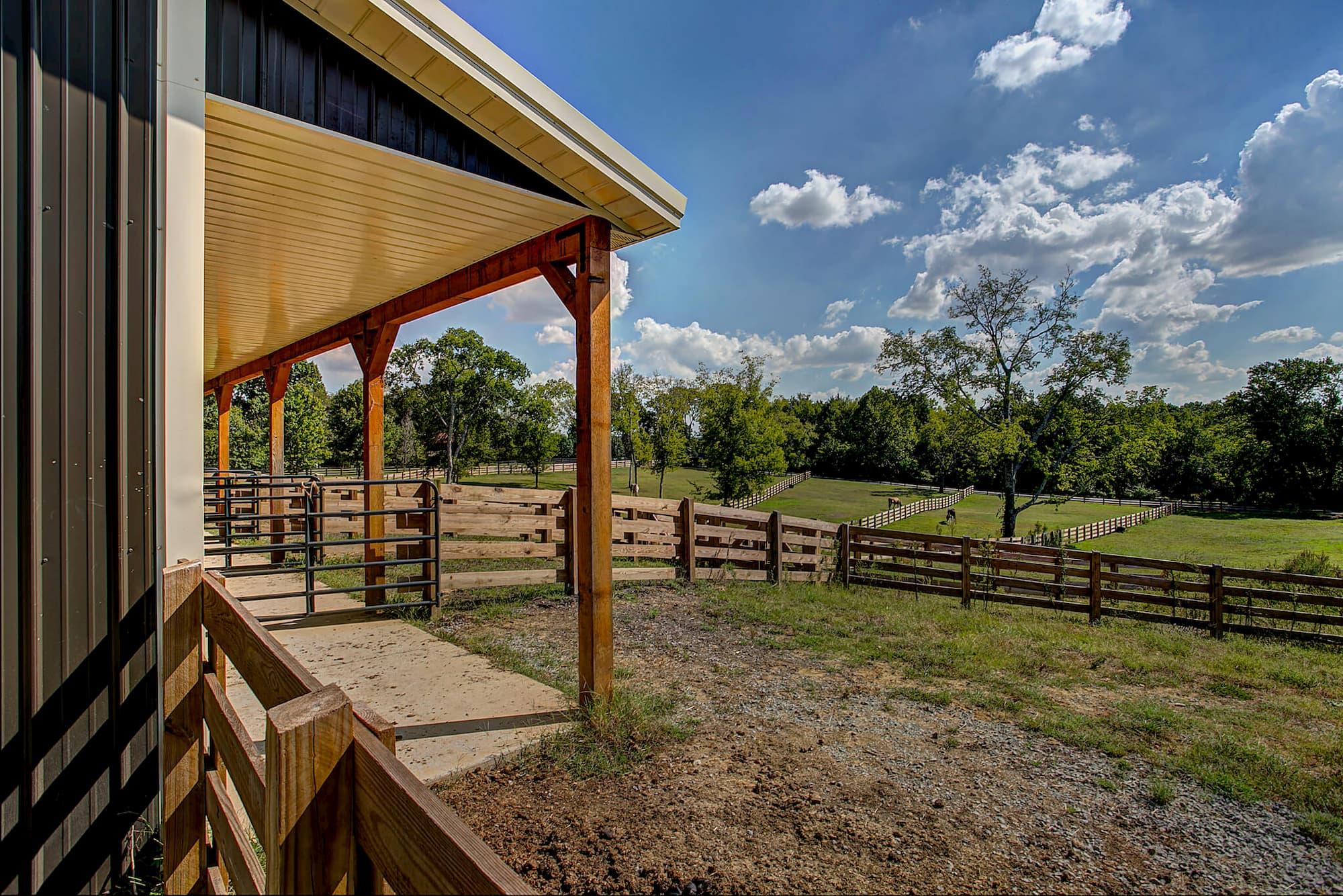 Equestrian Building Pasture