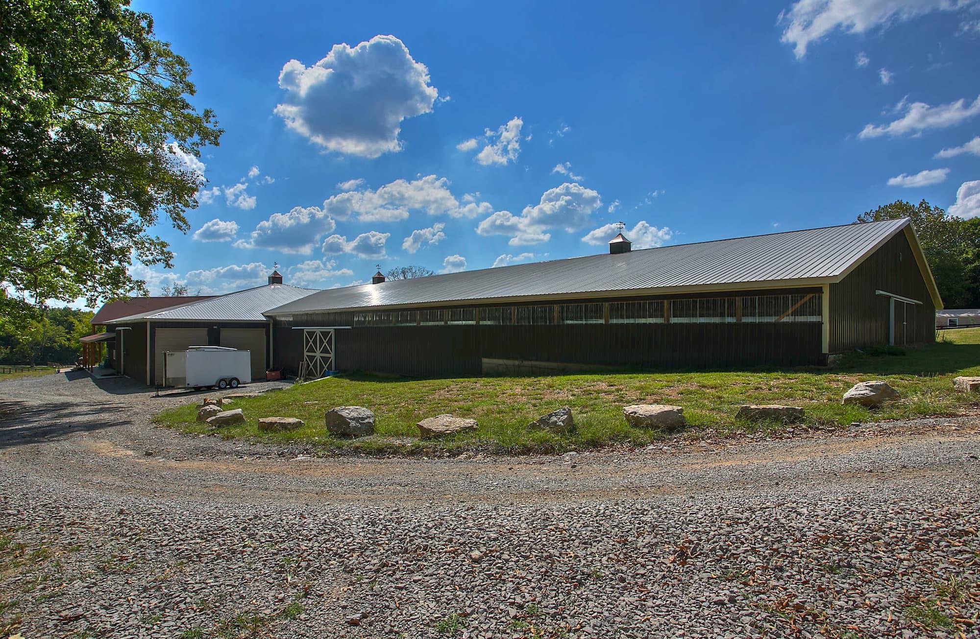 Horse Farm Structure