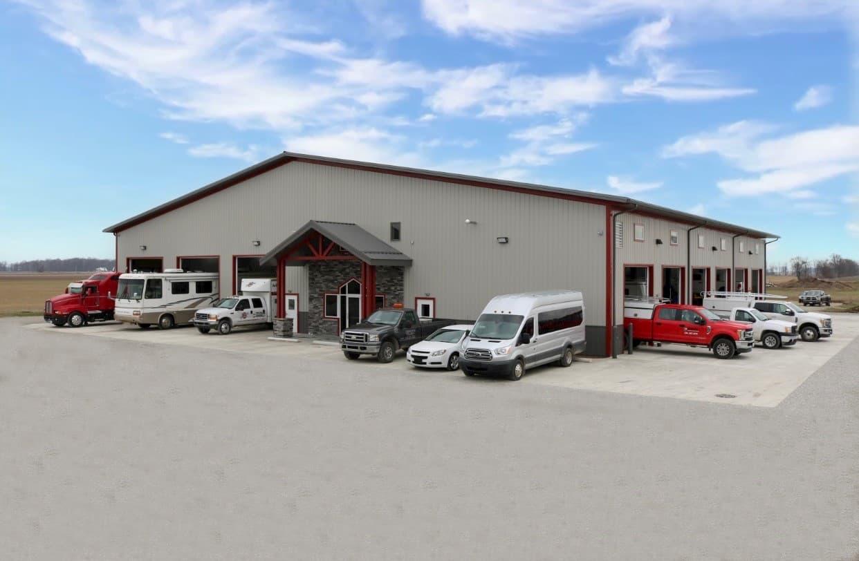 Mechanic Shop New Construction