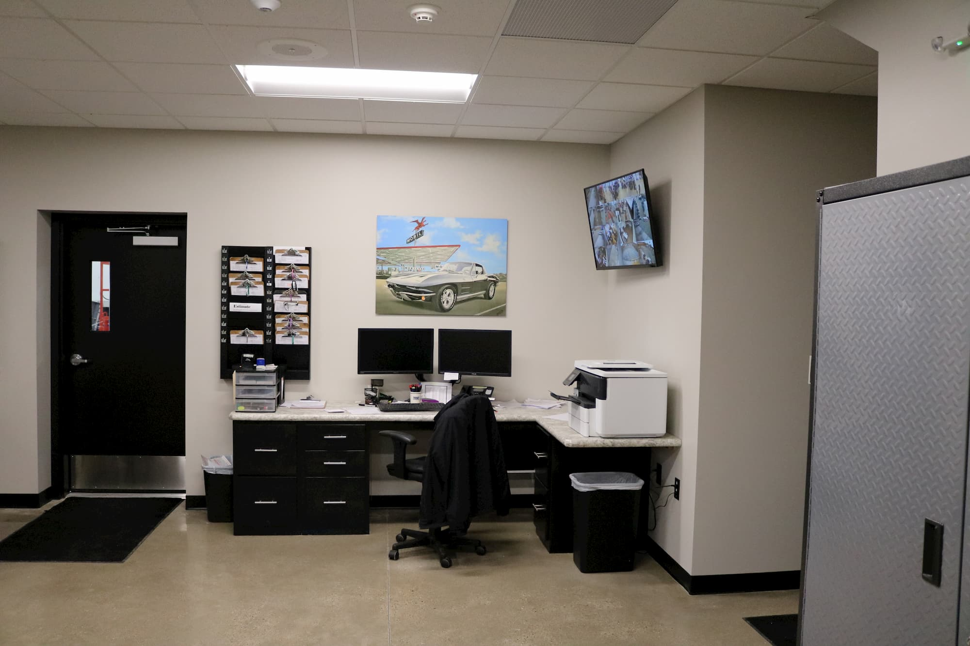 Mechanic Shop Office
