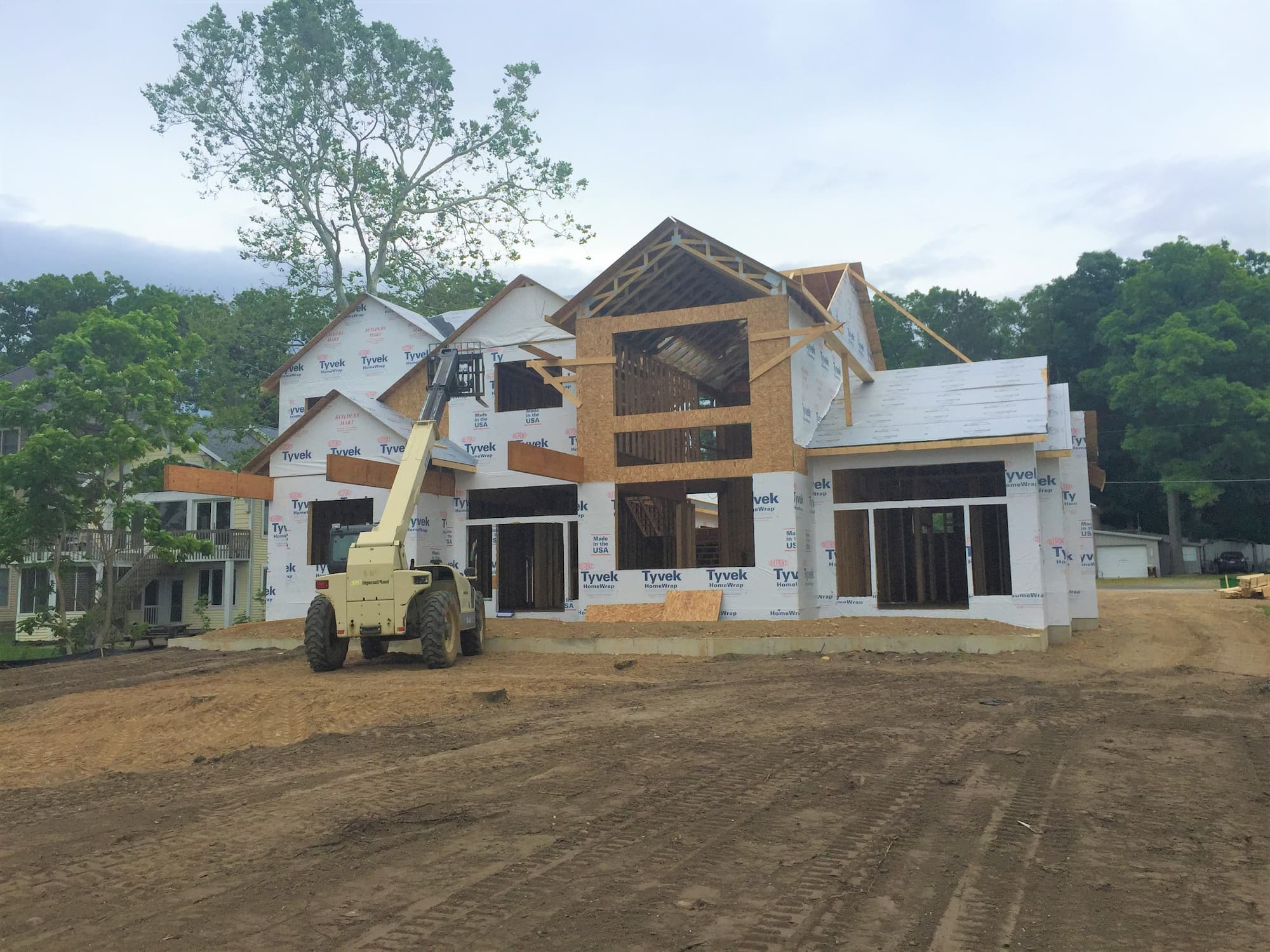 New Home Contractor Building