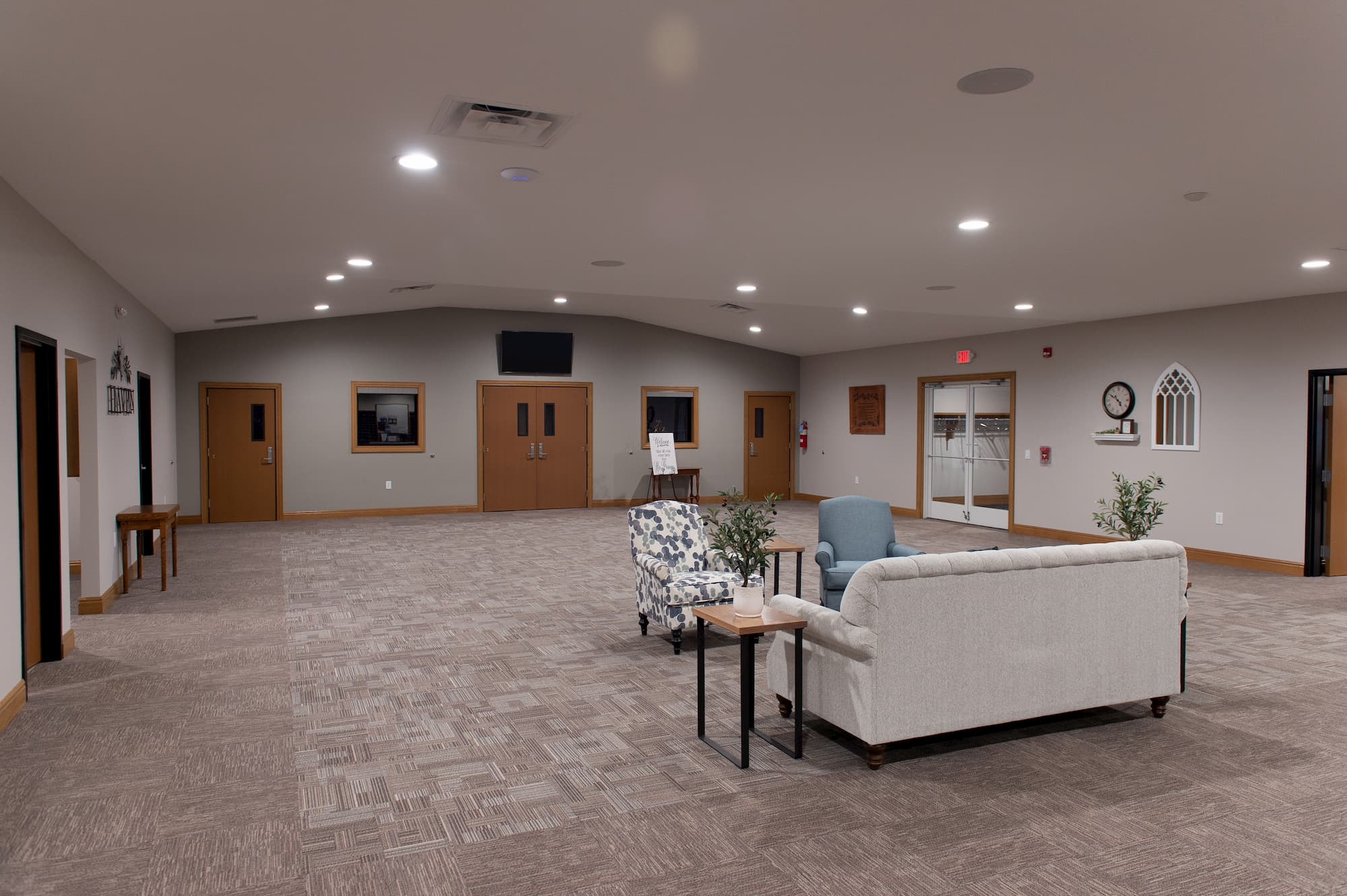 Religious Contractor New Lobby
