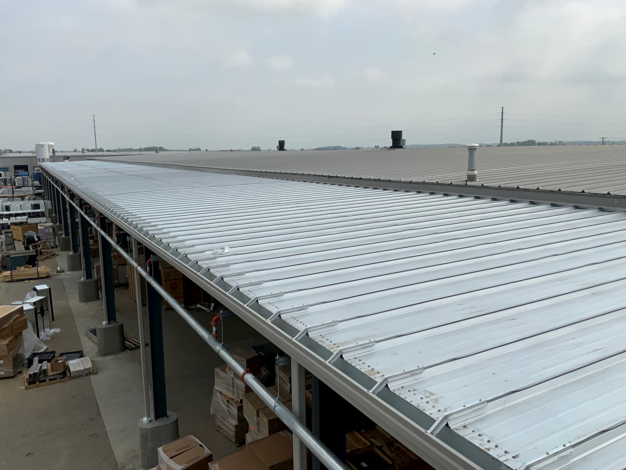 Steel Framed Manufacturing Construction