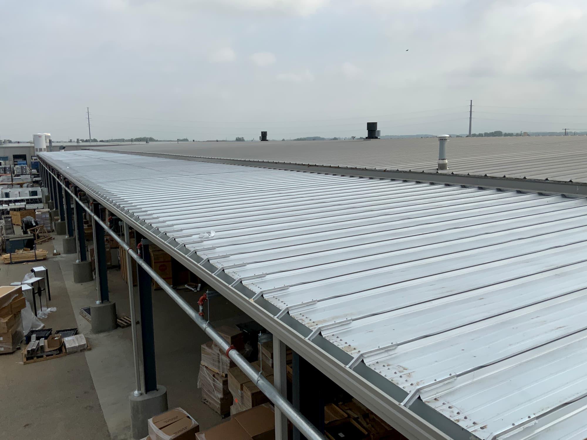 Steel Framed Manufacturing Construction